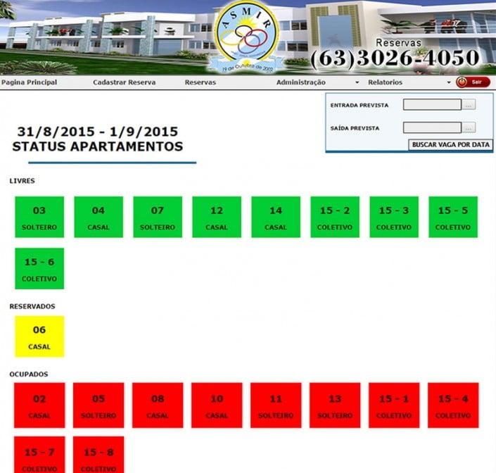 Sistema Hotel Asmir